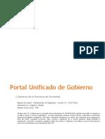 7105 - Gobierno de Corrientes - Manual de Usuario - Administrador de Organismo
