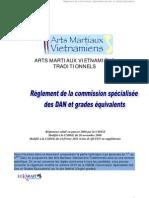 Reglement Des Grades AMV Traditionnels