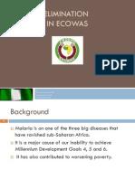Malaria Elimination Initiative in ECOWAS-OBUDU