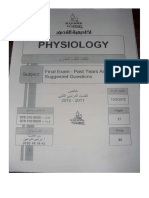 Al-Qusour Questions Physiology