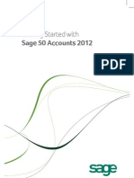 Getting Started With Sage 50 Accounts 2012