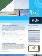 Gobi 3000 Product Sheet