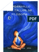 Cuadernillo Taller de Filosofia
