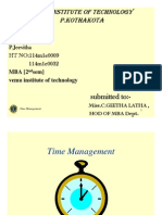 Time Management [Compatibility Mode]