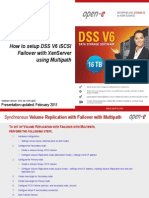 Open-E DSS V6 How to Setup iSCSI Failover With XenServer