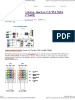 Cableado Estructurado - Norma EIA_TIA 568A (T568A) y 568B (T568B)