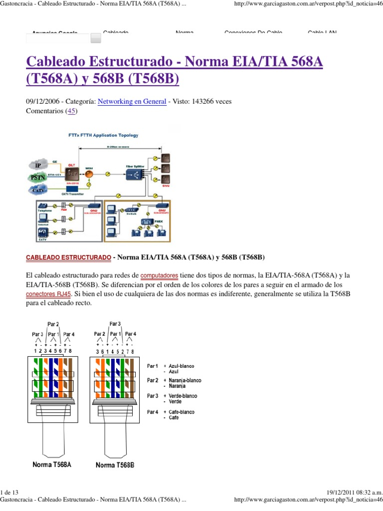 Enchanting Tia 568b Color Code Photo - Best Images for wiring ...