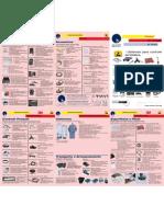 Anti-Estática Equipamentos Catálogo 3M 2008