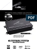 APSM 1200 Manual
