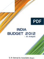 Budget Analysis-2012_T.P Ostwal & Associates