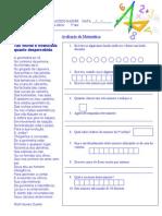 avaliação matemática 1