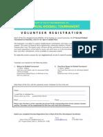 Volunteer Registration 2012