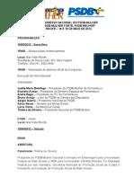 Programação - Congresso PSDB-Mulher 1