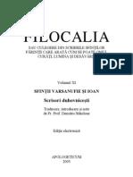 Filocalia, volumul XI