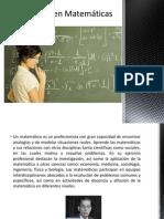 Matematicas y Estadistica