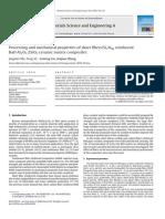 2009 Processing and Mechanical Properties of Short Fiber