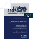israeli think tank publishes may issue of 'strategic assessment'