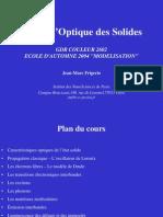 Cours D-Optique Des Solides