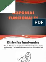 disfonia funcional
