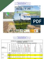 2do Decadal Nro. 258-Mayo-Chaco-Bermejo Camiri, Villa Montes y Yacuiba
