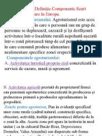 1) Agroturismul.Definiție.Componente.Scurt istoric și dezvoltare în Europa.