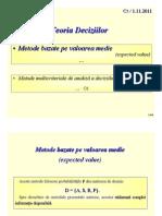 Analiza Multi Criteria La in Luarea Deciziilor