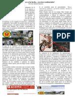 Villas Claudia y la Autodefensa Comunitaria