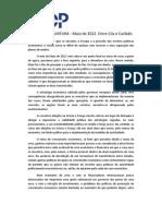IDP NOTA DA CONJUNTURA - Maio de 2012. Entre Cila e Caríbdis
