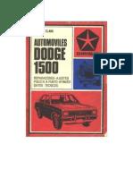 Manual de Dodge 1500