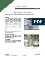 Jothi S.D.R , et al. (May 2012) Sirenomelia – A case report. Jour of Med Sc & Tech; 1(2); pp 67-70
