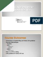 HSMN Healthcare Payment Methodologies