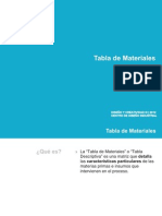 Diagrama de Flujo - Tabla Mat-2012