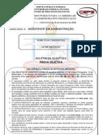Ceps Ufpa 2009 Ufpa Assistente Administrativo Prova
