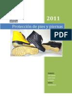 Protección de piernas y pies informe