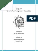Temperature and Pressure Transmitters (Font 11) 98