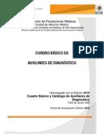 Cuadro Basico Auxiliares DxIMSS