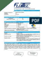 MSDS-Xantato Amilico de Potasio Z-6 (Colector Sec.)
