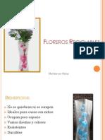 Floreros Reciclables
