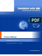 Tandberg T24 User Manual 1017472 D
