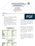 Taller Factores de Conversion