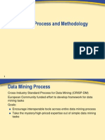 Data Mining Process and Methodology Hand Out