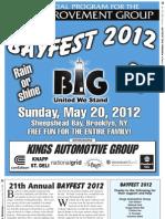 Bay Fest 2012 Program Guide Proof