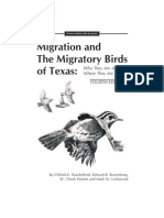Migration and the Migratory Birds of Texas TPWD Publication