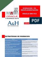 Estrategias Migración Vs. Reimplementación A&H COL
