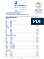 Helios Price List 2011