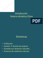 1. Historia dinástica china