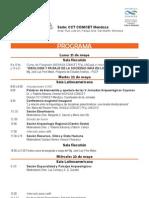 Programa v Jornadas Arqueologicas Cuyanas