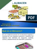 PRESENTACION EL ALMACEN