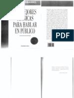 Carlos Brassel - Las Mejores Tecnicas Para Hablar en Publico