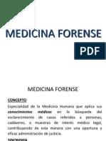 MEDICINA FORENSE II